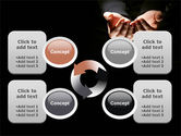 Cupped Hands PowerPoint Template#9
