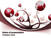 Nature & Environment: Growing Earth Fruits PowerPoint Template #07418