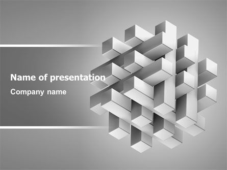 Consulting: Stable Structure Free PowerPoint Template #07419