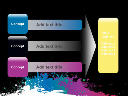 Paint Stains PowerPoint Template Slide 12