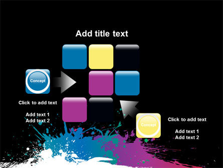 Paint Stains PowerPoint Template Slide 16