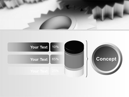 Gearwheel PowerPoint Template Slide 11