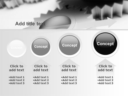 Gearwheel PowerPoint Template Slide 13