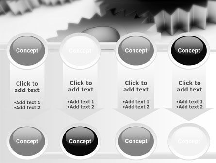 Gearwheel PowerPoint Template Slide 18