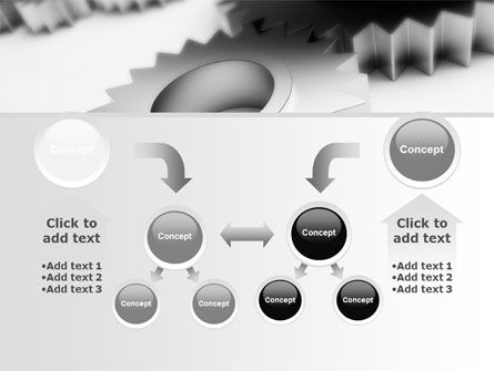 Gearwheel PowerPoint Template Slide 19