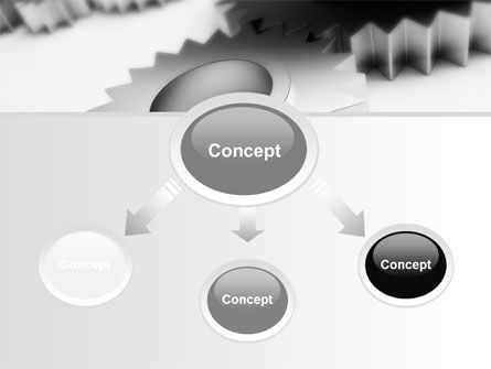 Gearwheel PowerPoint Template Slide 4