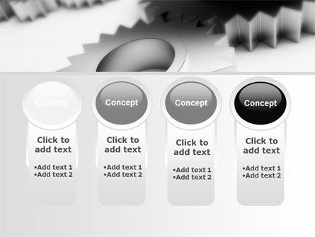 Gearwheel PowerPoint Template Slide 5