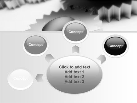 Gearwheel PowerPoint Template Slide 7
