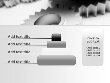 Gearwheel PowerPoint Template Slide 8