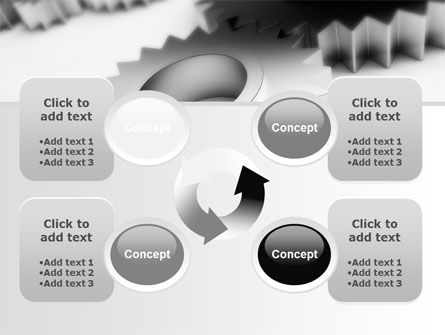 Gearwheel PowerPoint Template Slide 9