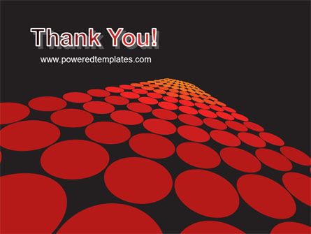 Red Dotted Way PowerPoint Template Slide 20