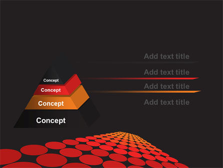Red Dotted Way PowerPoint Template Slide 4