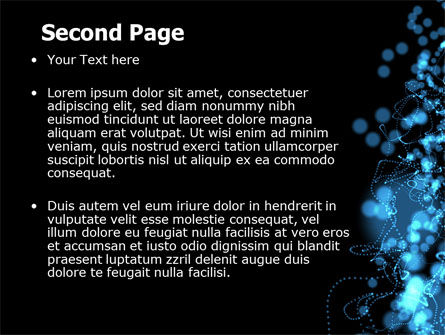 Beads Abstract PowerPoint Template Slide 2