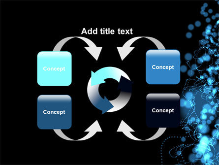 Beads Abstract PowerPoint Template Slide 6