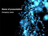 Abstract/Textures: Beads Abstract PowerPoint Template #07423