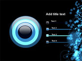 Beads Abstract PowerPoint Template#9