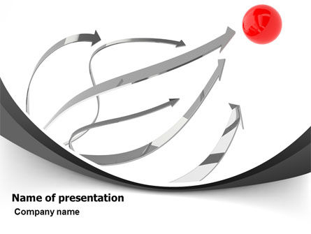 Hitting The Target PowerPoint Template