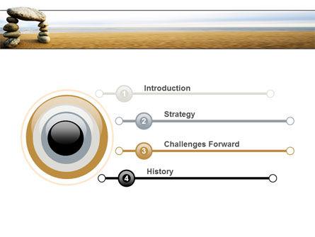 Balanced Stone Gate PowerPoint Template, Slide 3, 07427, Religious/Spiritual — PoweredTemplate.com