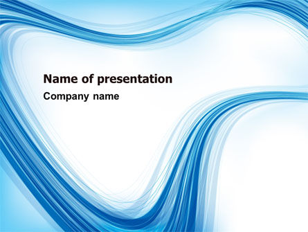 Track Abstract PowerPoint Template