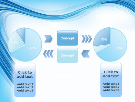 Track Abstract PowerPoint Template Slide 11