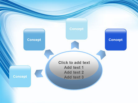 Track Abstract PowerPoint Template Slide 7