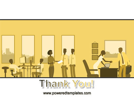 Office Work Activity PowerPoint Template Slide 20