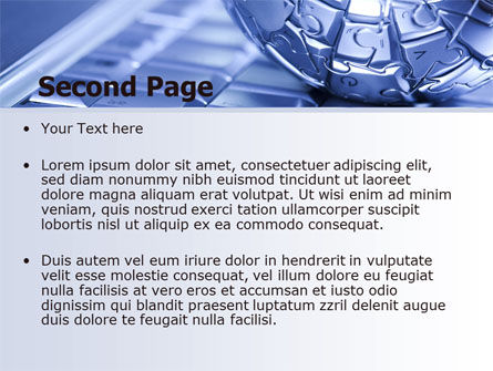 Internet Global PowerPoint Template, Slide 2, 07433, Technology and Science — PoweredTemplate.com