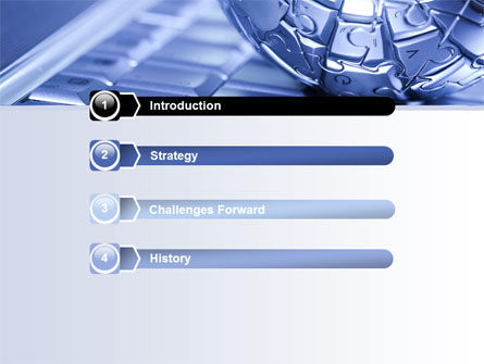 Internet Global PowerPoint Template, Slide 3, 07433, Technology and Science — PoweredTemplate.com