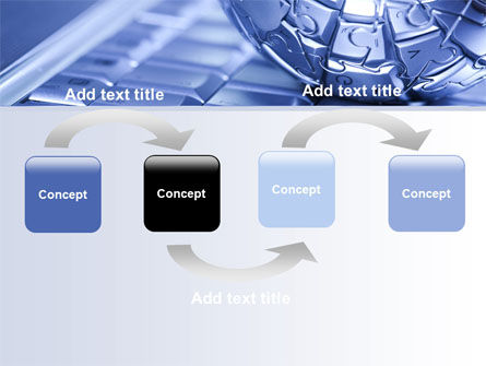 Internet Global PowerPoint Template, Slide 4, 07433, Technology and Science — PoweredTemplate.com