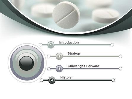 Falling Pills PowerPoint Template, Slide 3, 07434, Medical — PoweredTemplate.com