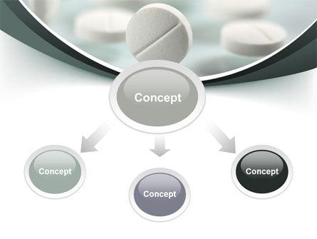 Falling Pills PowerPoint Template, Slide 4, 07434, Medical — PoweredTemplate.com
