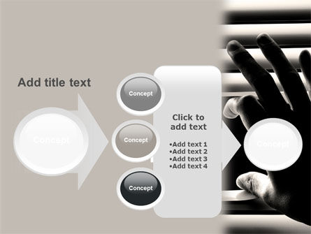 Window Blinds PowerPoint Template Slide 17