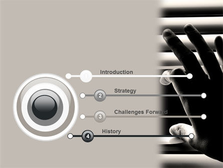 Window Blinds PowerPoint Template, Slide 3, 07436, Consulting — PoweredTemplate.com