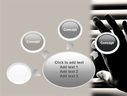 Window Blinds PowerPoint Template Slide 7