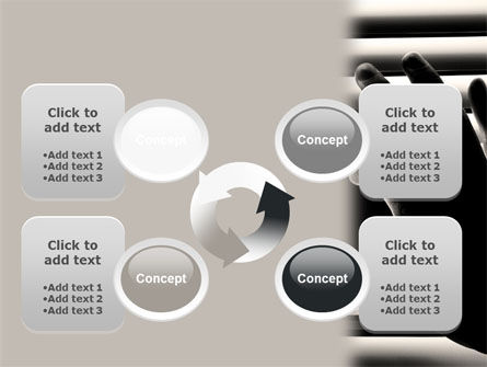 Window Blinds PowerPoint Template Slide 9