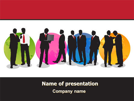Business People Theme PowerPoint Template