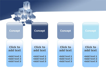 Puzzle Building PowerPoint Template Slide 5