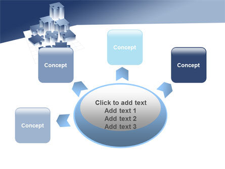Puzzle Building PowerPoint Template Slide 7
