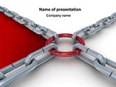 Consulting: Main Link PowerPoint Template #07441
