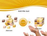Begging Hands PowerPoint Template#17