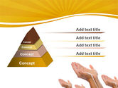 Begging Hands PowerPoint Template#4