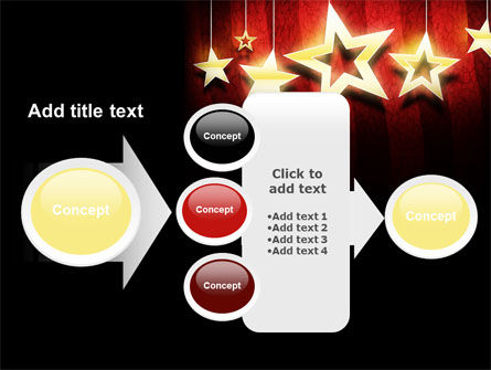 Golden Stars PowerPoint Template Slide 17