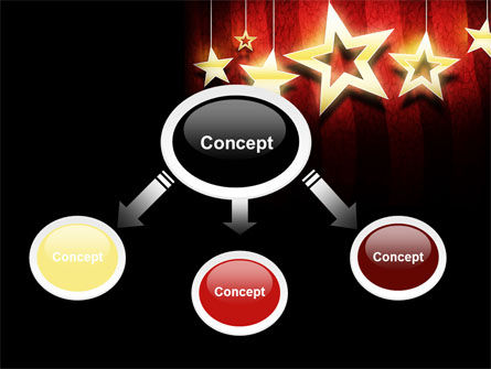 Golden Stars PowerPoint Template Slide 4