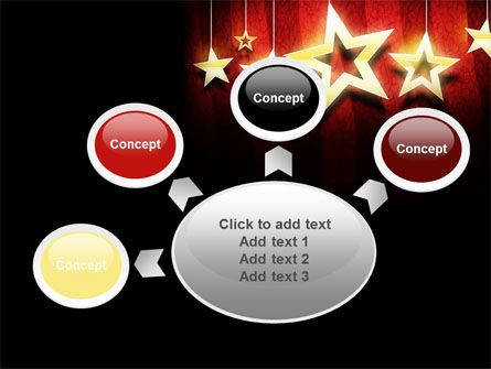 Golden Stars PowerPoint Template Slide 7