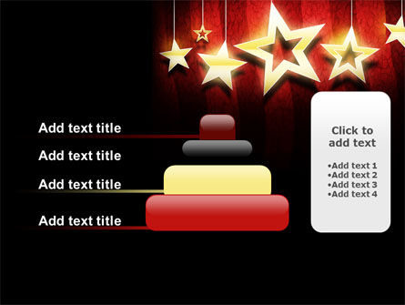 Golden Stars PowerPoint Template Slide 8