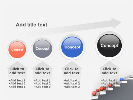 Higher And Higher PowerPoint Template Slide 13