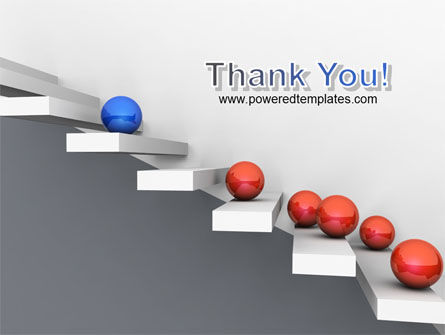 Higher And Higher PowerPoint Template Slide 20