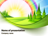 Education & Training: Plantilla de PowerPoint - vacaciones en el campo #07453