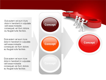 Red Wrench PowerPoint Template Slide 11