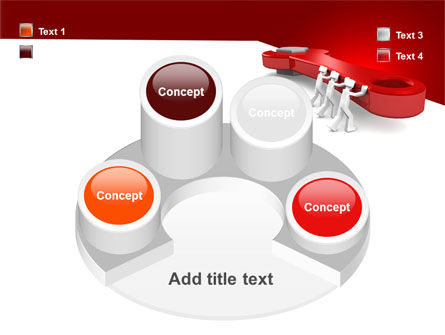 Red Wrench PowerPoint Template Slide 12